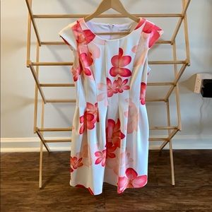 Floral Calvin Klein Dress 4P